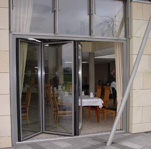 balcony doors with retractable awnings