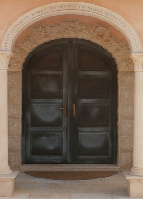 bronze clad hurricane rated entrance door