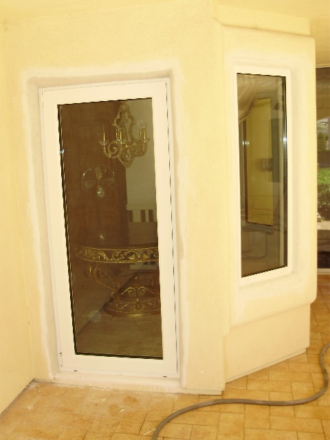 bullet proof window and door